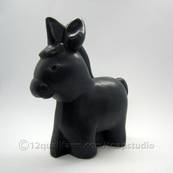 3D Donkey Soap (Black)