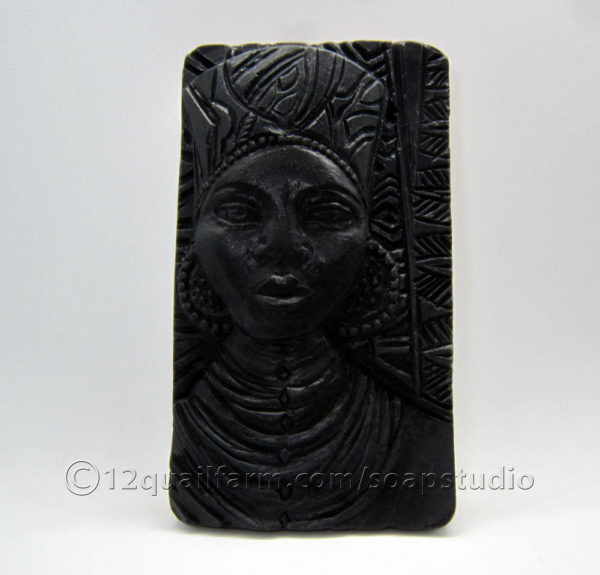 African Lady Soap (Black)