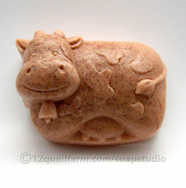 Cow Soap (Moroccan Red)