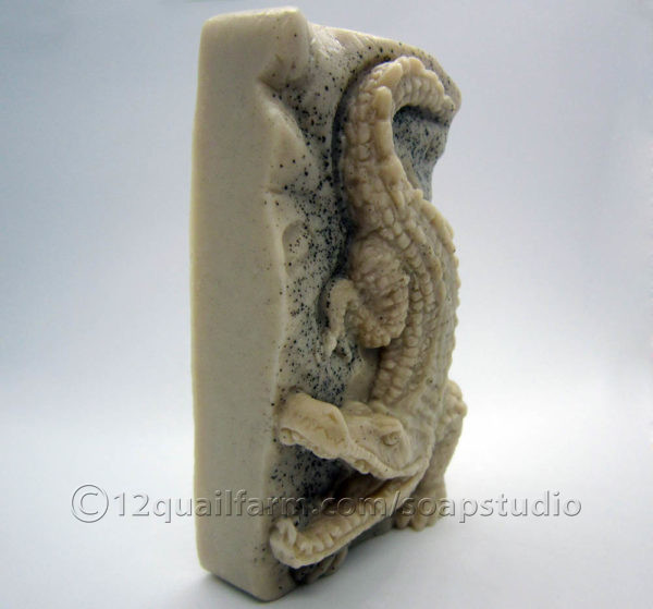 Crocodile Soap (Beige)