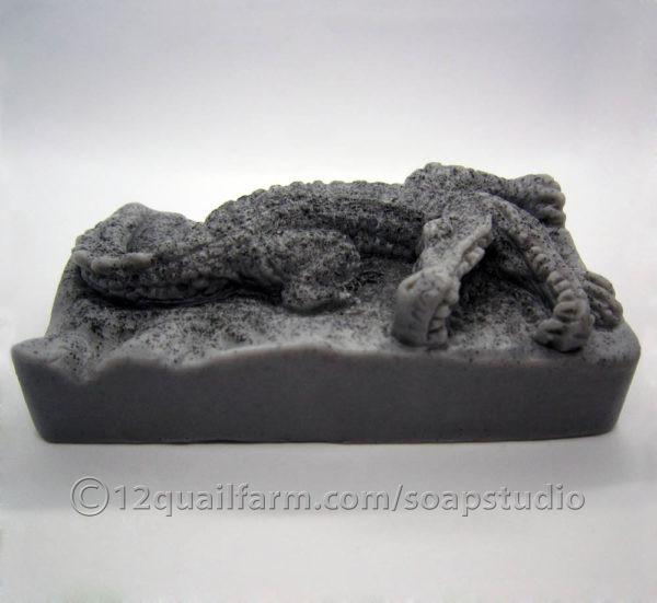 Crocodile Soap (Black)