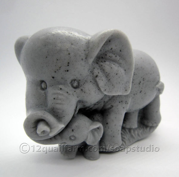 Elephant Soap (Grey)