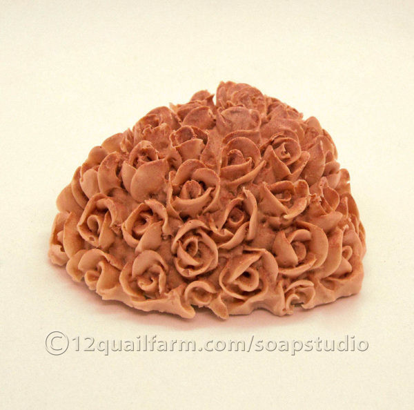 Floral Heart Soap (Pink)