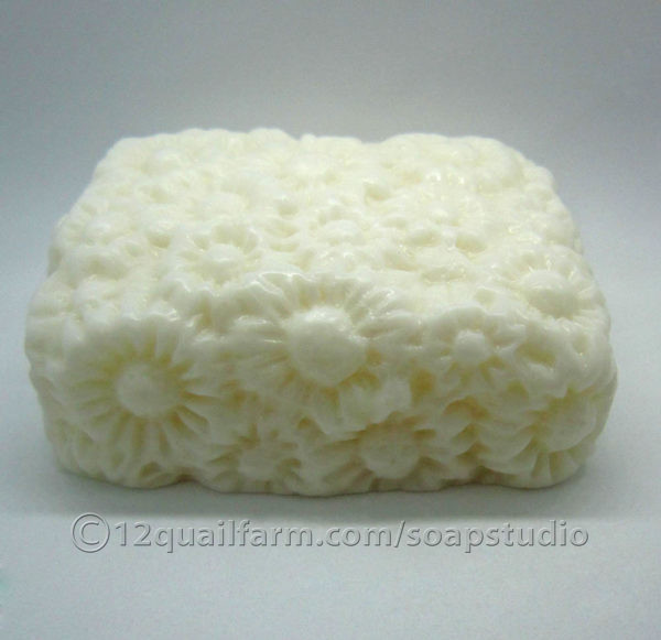 Flowerbed Soap (White)