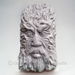 Green Man Soap (Grey)