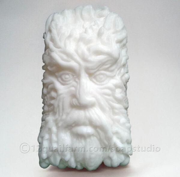 Green Man Soap (White)