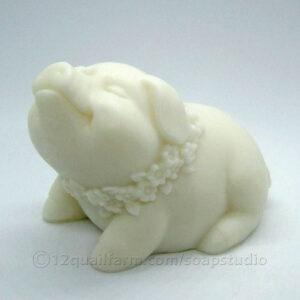 Little Pig Soap (White)