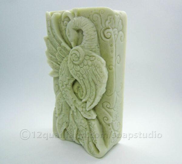Peacock Soap (Green)