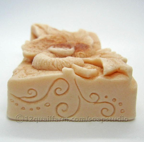 Peacock Soap (Moroccan Red)