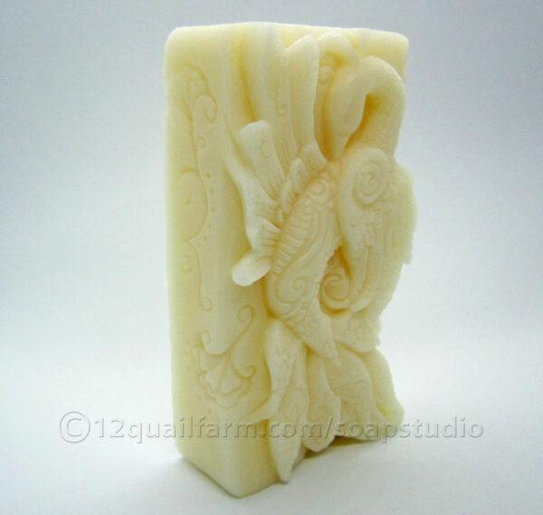 Peacock Soap (White)