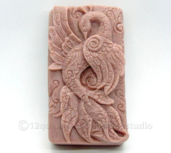 Peacock Soap (Purple)