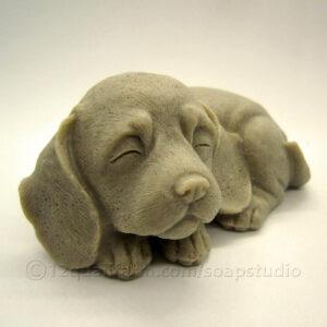 Puppy Dog Soap (Beige)