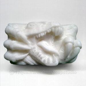 Roaring Rex Soap (White)