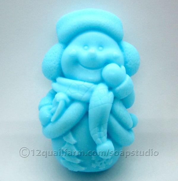 Snowman Soap 2 (Blue)