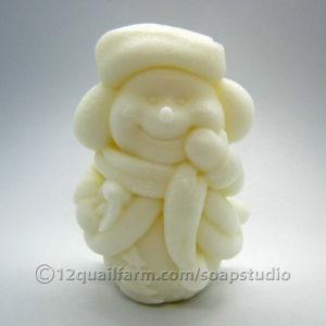 Snowman Soap 2 (White)
