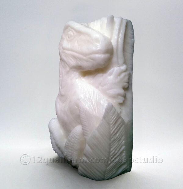 T-Rex Soap (White)