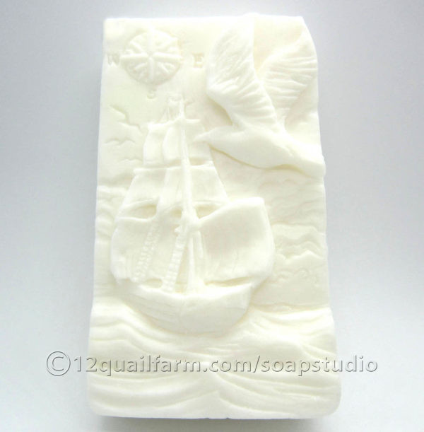 White Boat Soap