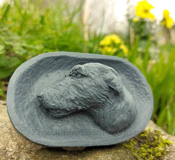 Irish Wolfhound (Dark Grey)