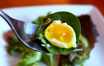 Poached Quail Eggs1