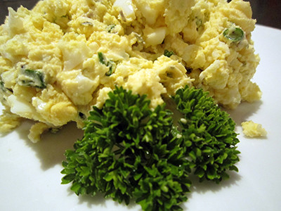 12 Quail Farm egg butter